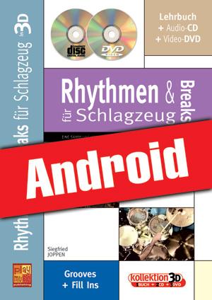 Rhythmen und Breaks für Schlagzeug in 3D (Android)