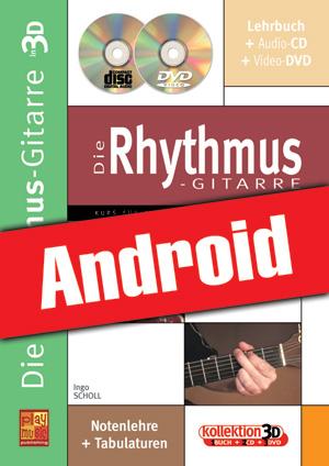 Die Rhythmus-Gitarre in 3D (Android)