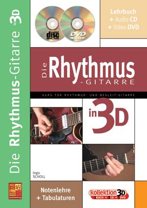Die Rhythmus-Gitarre in 3D