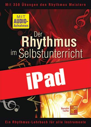 Der Rhythmus im Selbstunterricht - Bassgitarre (iPad)