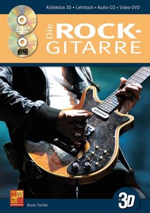 Die Rock-Gitarre in 3D