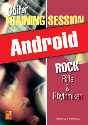 Guitar Training Session - Rock - Riffs & Rhythmiken (Android)