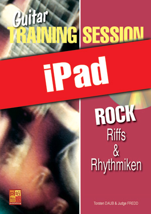 Guitar Training Session - Rock - Riffs & Rhythmiken (iPad)