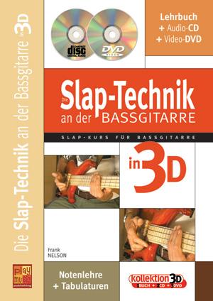Die Slap-Technik an der Bassgitarre in 3D