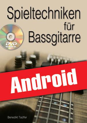 Spieltechniken für Bassgitarre (Android)
