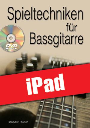 Spieltechniken für Bassgitarre (iPad)