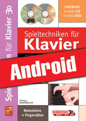 Spieltechniken für Klavier in 3D (Android)