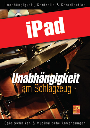 Unabhängigkeit am Schlagzeug (iPad)