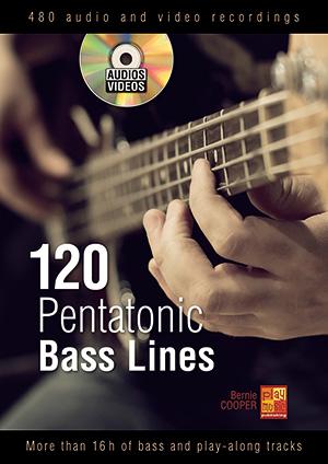 120 Pentatonic Bass Lines