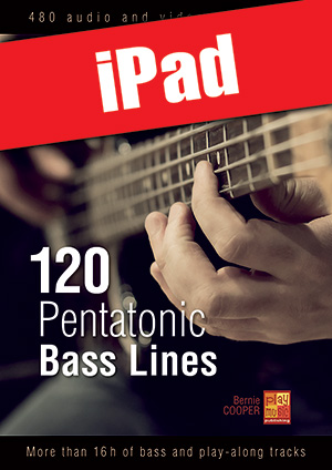 120 Pentatonic Bass Lines (iPad)