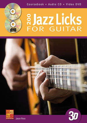 200 Jazz Licks for Guitar in 3D