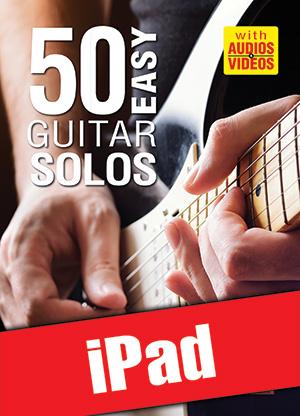 50 Easy Guitar Solos (iPad)