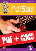 200 Slap Grooves (pdf + mp3 + videos)
