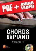 Chords on the Piano - Volume 1 (pdf + mp3 + videos)