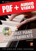 First Piano Accompaniments (pdf + mp3 + videos)