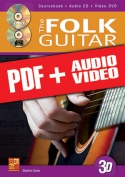 The Folk Guitar in 3D (pdf + mp3 + videos)