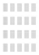 Guitar (6-fret diagrams)
