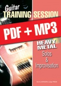 Guitar Training Session - Heavy Metal Solos & Improvisation (pdf + mp3)