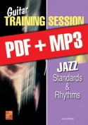 Guitar Training Session - Jazz Standards & Rhythms (pdf + mp3)