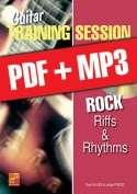 Guitar Training Session - Rock Riffs & Rhythms (pdf + mp3)