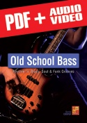 Old School Bass - R&B, Soul & Funk Grooves (pdf + mp3 + videos)