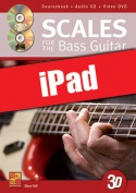 Scales for the Bass Guitar in 3D (iPad)