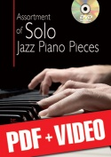 Assortment of Solo Jazz Piano Pieces (pdf + videos)