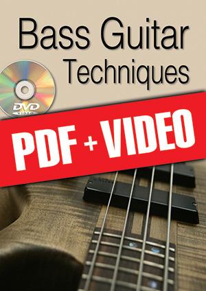 Bass Guitar Techniques (pdf + videos)