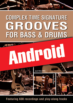 Complex Time Signature Grooves for Bass & Drums (Android)