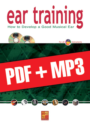 Ear Training - Guitar (pdf + mp3)