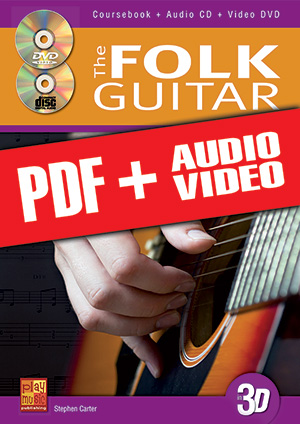 The Folk Guitar in 3D (pdf + mp3 + videos)