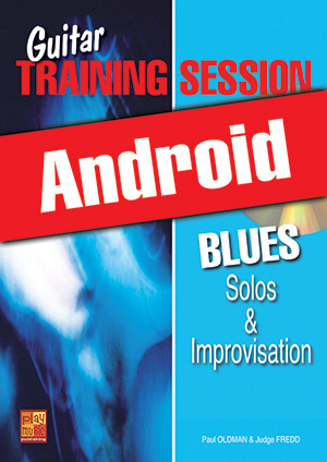 Guitar Training Session - Blues Solos & Improvisation (Android)