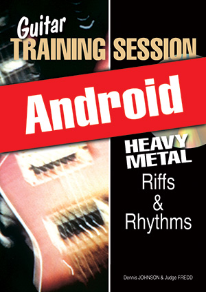 Guitar Training Session - Heavy Metal Riffs & Rhythms (Android)