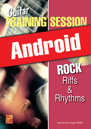 Guitar Training Session - Rock Riffs & Rhythms (Android)