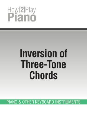 Inversion of Three-Tone Chords