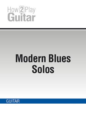 Modern Blues Solos