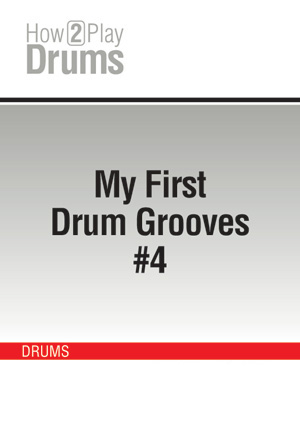 My First Drum Grooves #4