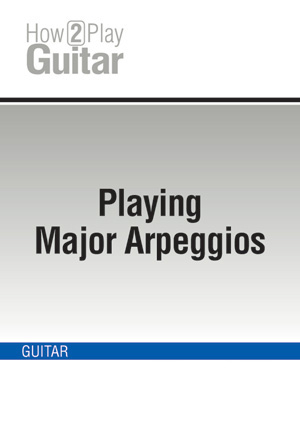Playing Major Arpeggios
