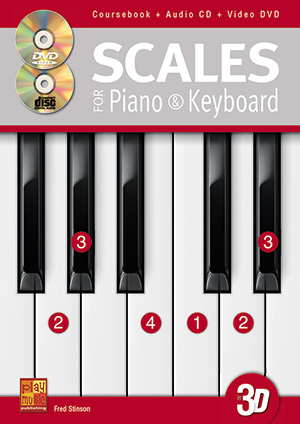 Scales for Piano & Keyboard in 3D