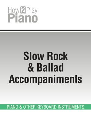 Slow Rock & Ballad Accompaniments