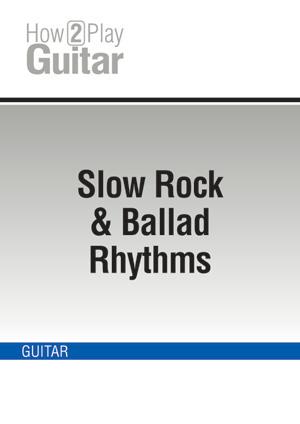 Slow Rock & Ballad Rhythms